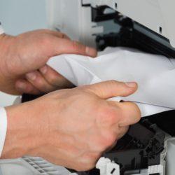 printer paper jam error